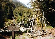 Architect Creek Swing Bridge / Copland Track
