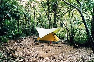 ゴアライトテント 西表島のジャングルにて